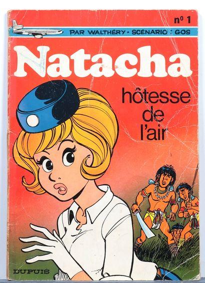 Natacha : Tomes 1 (em) à 9 en édition originale. Bon état / Très bon état (T1 cachet...