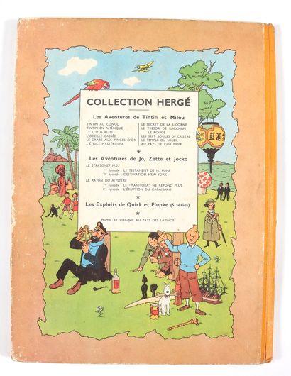 Tintin : Le Sceptre d'Ottokar (B7), Le Trésor de Rackham le Rouge (B11 + B7, médaillon...