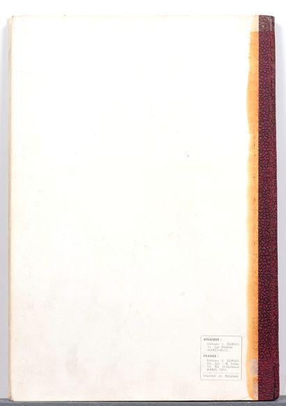 Valhardi : Tome 2, édition originale de 1951. Très très bon état (traces de papier...
