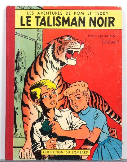 Pom et Teddy : Tomes 1 (tbe, avec point Tintin), 2 (be, nom au 1er plat et en page...