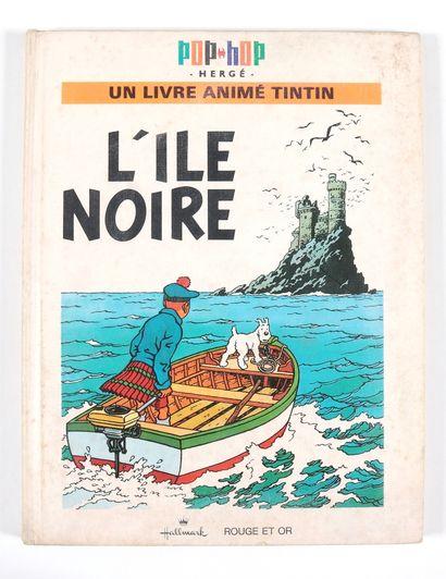 Tintin : Ensemble de 3 pop-hop : Vol 714 pour Sydney, On a marché sur la lune et...