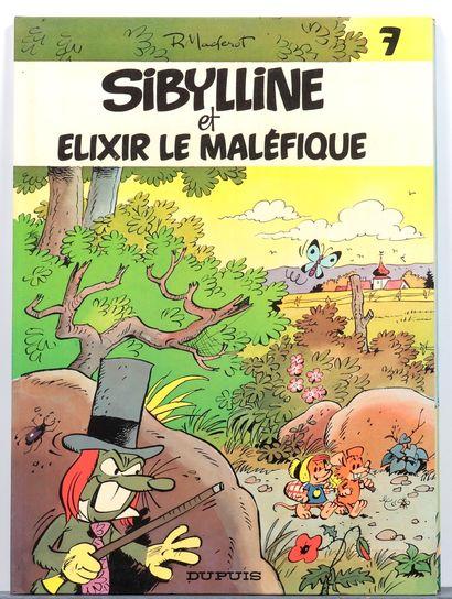 Sibylline : Tomes 6 à 11. Ensemble de 6 albums en édition originale. Très bon état...