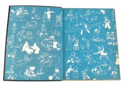 Tintin : Au Pays de l'or noir , édition originale de 1950 (B4). Très bon état.