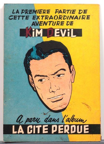 Kim Devil : Tomes 1 à 4 en édition originale. Etat moyen (T1 trace d'étiquette au...