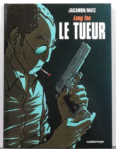 """Tueur : Tomes 1 à 13 (T3 à 5 avec ex-libris collés n°/s. T5 avec le carnet """"La Genèse""""..."""
