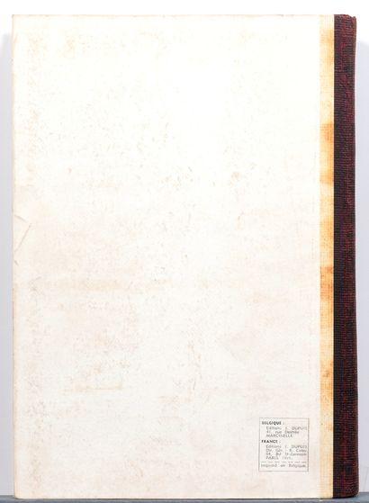 Spirou : Reliure éditeur n°21. Très bon état (lettre B et chiffre 1 sur le 1er p...