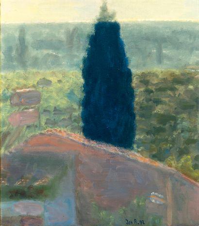 Jan RAUCHWERGER (1942) Paysage , 1997 Huile...