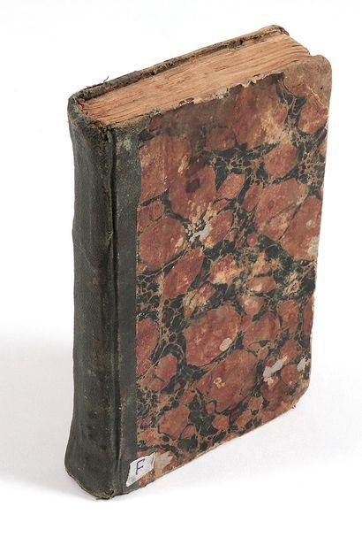 An'am Sharif - Livre de prières Iran ou Inde, vers 1800 Manuscrit arabe sur papier...
