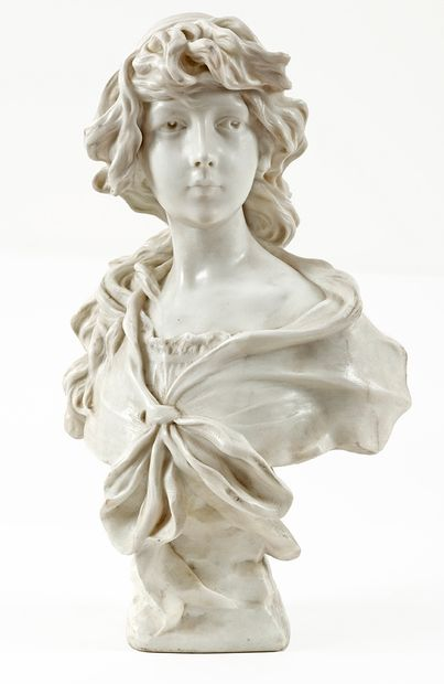 Georges MORIN (1874-1950) Buste de jeune...