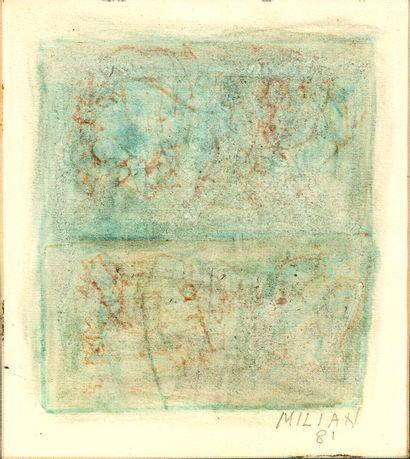 Raúl MILIAN (1914-1984) Figura astrana ,...