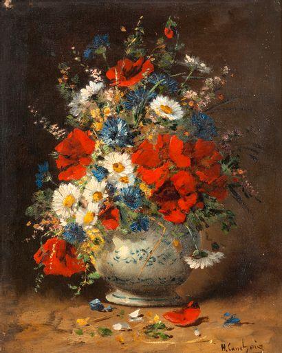 Eugène Henri CAUCHOIS (1850-1911) Vase de...