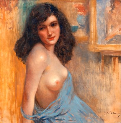 Gustav Max STEVENS (1871-1946) Portrait de...