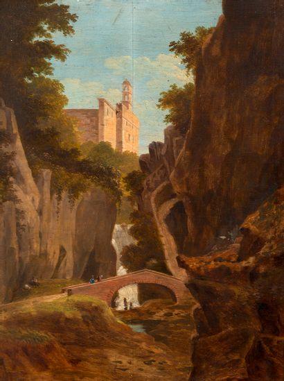 Ecole fin XVIIIe-début XIXe siècle Vallée...