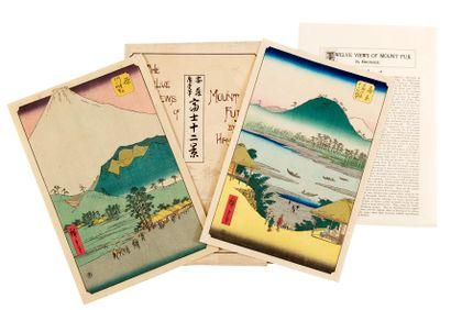 D'après Utagawa HIROSHIGE (1797-1858) Japon,...