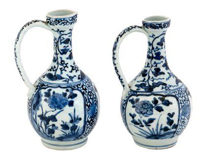 Japon, période Edo (1603-1868) Lot de deux...