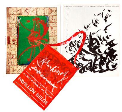 Lot de deux catalogues de la XXXVIe Biennale...
