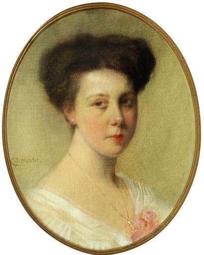 Charles Joseph WATELET (1867-1954) Portrait...