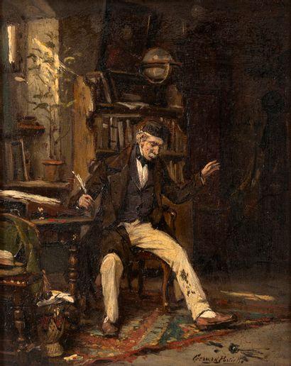 Gérard PORTIELJE (1856-1929) Un accident...