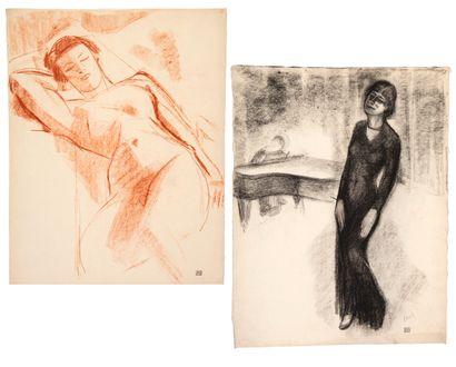 Willem PAERELS (1878-1962) Marianne Oswald...