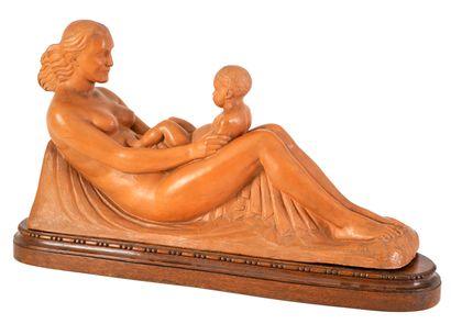 Joseph WITTERWULGHE (1883-1967) Maternité...