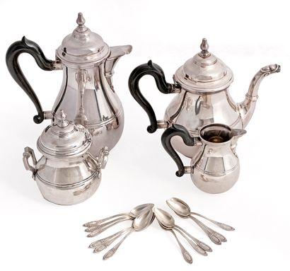 Altenloh Service à café et à thé en argent...