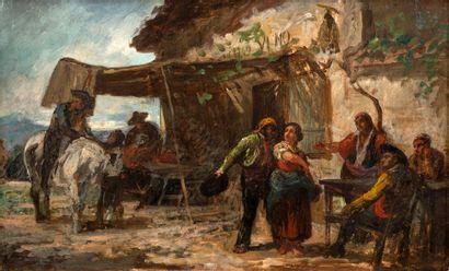Attribué à José ROBLES y MARTINEZ(1843-1911)...