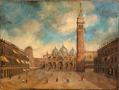 Suiveur de Francesco GUARDI (Venise,1712-1793)...