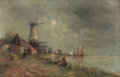 Paul Joseph Constantin GABRIËL (1828-1903)...