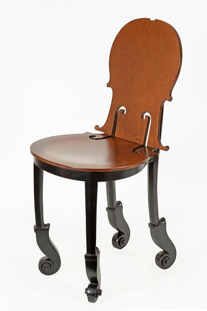 D'après Fernandez ARMAN (1928-2005) Chaise...