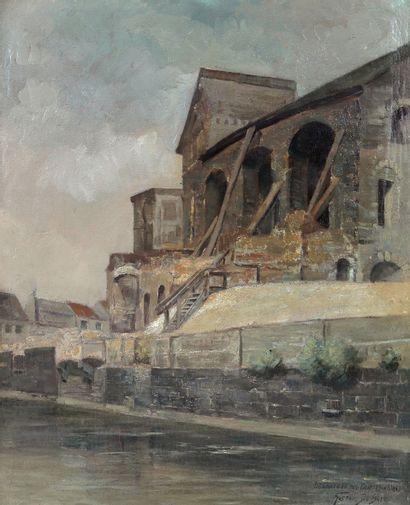 Gustave DE SMET (1877-1943) Le Château des...