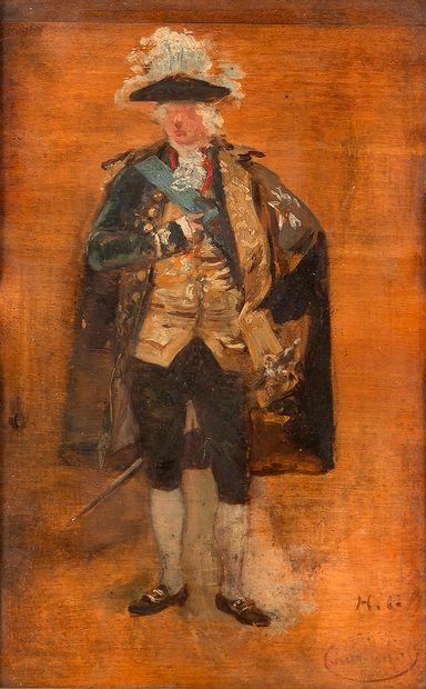 Henri GERVEX (1852-1929) Représentation présumée...