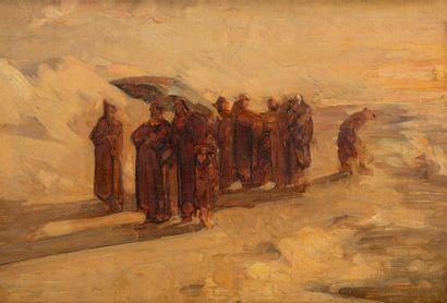 Alfred CLUYSENAAR (1837-1902) Procession...