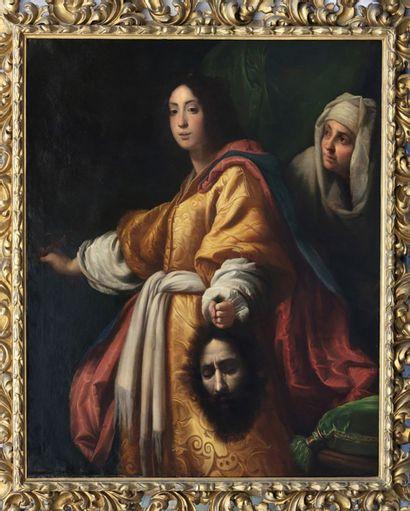D'après Cristofano ALLORI(Florence,1577-1621),probablement XVIIIe siècle Judith...