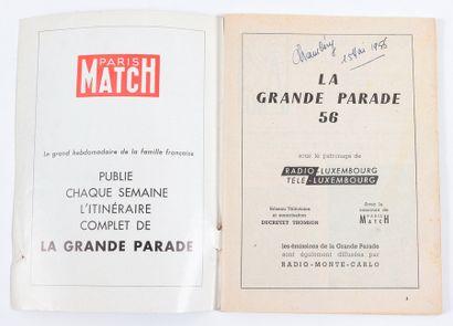 Franquin : Télé Radio Circus de 1955 comprenant une publicité pour le Journal Spirou...