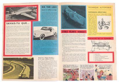 """Renault Junior : Fascicule n°1 (fin des années 50). Comprenant 1 planche de """" La..."""
