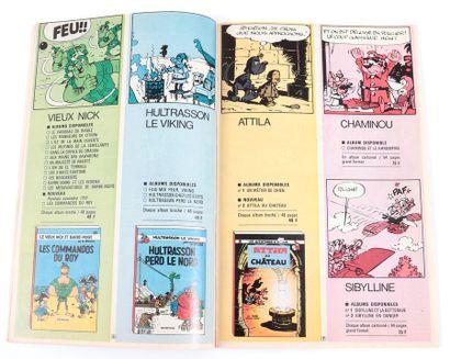 Dupuis : Catalogue éditeur de 1970. Proche de l'état neuf.