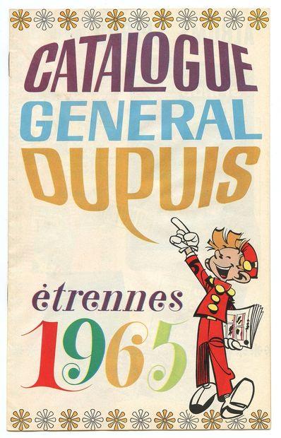 Dupuis : Catalogue éditeur de 1965. Très très bon état / Proche de l'état neuf.