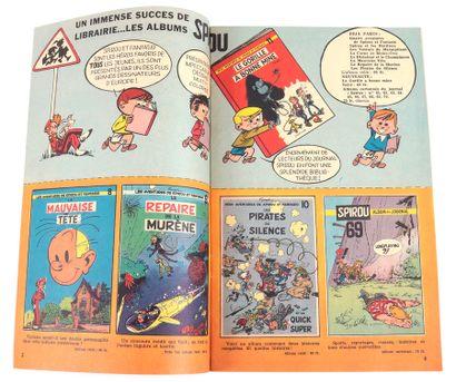 Dupuis : Catalogue éditeur de 1960. Rare . Proche de l'état neuf.