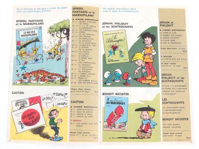 Dupuis : Catalogue éditeur de 1968. Proche de l'état neuf.