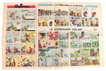 C'est dimanche : Fascicule n°0 de 1966 (Ed. des Bogards). Présentant des gags et...