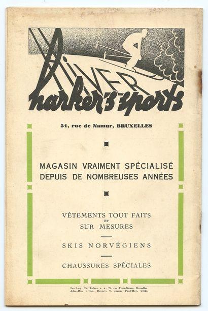 Hergé : La Tente , n°10 du 15 décembre de 1938. Couverture d'Hergé. Bon état / Très...