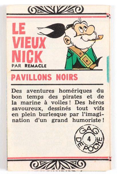 """Dupuis : Catalogue """" Gag de poche """" de 1964 (Ed. Dupuis). En accordéon présentant..."""