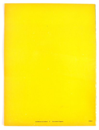Lombard : Albums à colorier : Les Bateaux(31025/5, album non colorié) +Sultan,...