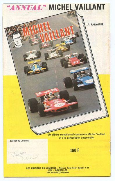 Lombard : Catalogue éditeur de 1970-1971. Très très bon état (annotations : prix...