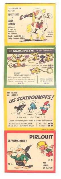 Dupuis : Catalogue latex de juin 1960. Dépliant des poupées en latex en 7 volets...