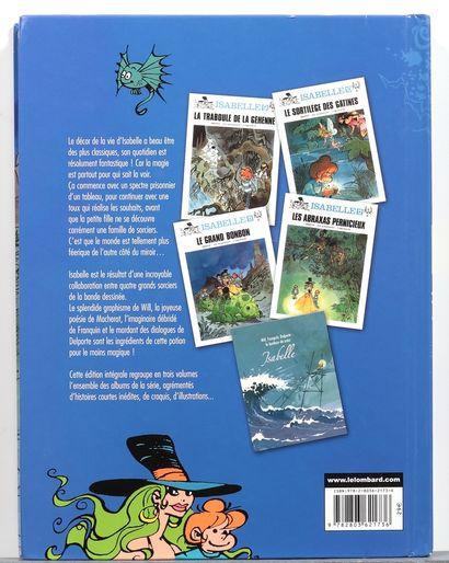 Isabelle : Intégrales 1 et 3 aux Éditions du Lombard, 2007. Très très bon état....