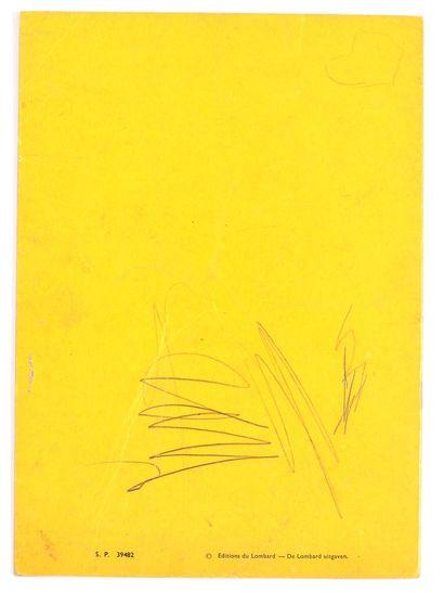Lombard : Albums à colorier : Strapontin, couv. Berck (S.P. 39482, inscriptions sur...
