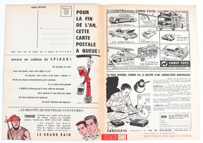 Spirou : Supplément La Queue du Marsupilami duJournal Spirou n°1235 spécial noël...