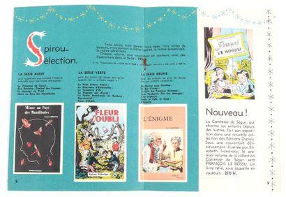 """Dupuis : Catalogue éditeur """" Fêtes... """" de 1953. Très bon état / Très très bon é..."""