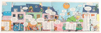 Spirou : Suppléments du Journal Spirou : La frise calendrier Spirou n°1287 du 13...